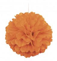Boule décorative orange