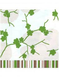20 Serviettes en papier Nature 33 x 33 cm