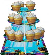 Présentoir à petits gâteaux Océan