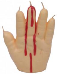 Bougie main saignante