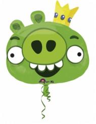 Ballon aluminum géant Angry Birds™ vert