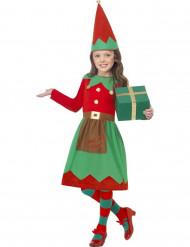 Déguisement elfe fille Noël