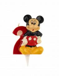 Bougie chiffre 2 Mickey™