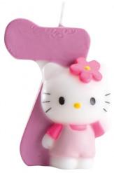 Bougie numéro 7 Hello Kitty™