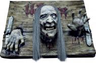 Décoration plaque Welcome zombie Halloween