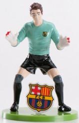Figurines gardien de but  FC Barcelone™