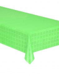 Nappe en rouleau papier damassé vert pistache