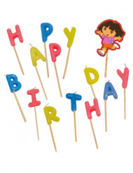 Bougies Happy Birthday Dora™