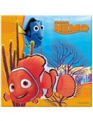 20 Serviettes en papier Nemo™ 33 x 33 cm