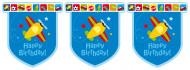 Guirlande Happy Birthday Avions