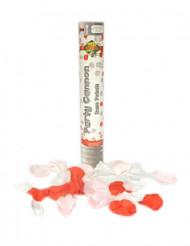 Canon à confettis fausses pétales de rose