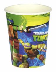 8 Gobelets en carton Tortues Ninja™