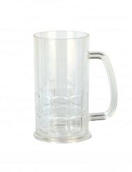 Chope à bière plastique
