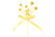 2 Bouquets déco étoile or