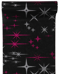 Chemin de table galaxy noir 5 m