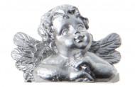 Marque-place ange argent