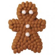 24 Décorations alimentaires Wilton™ pain d'épices Noël
