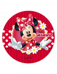 Disque azyme 20 cm Minnie pâquerettes™