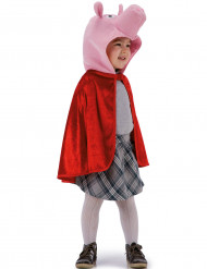 Cape cochon rouge enfant