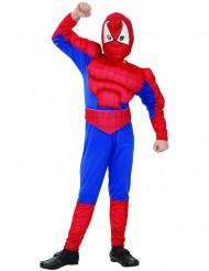 Déguisement super héros homme araignée garçon