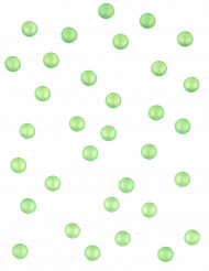 Perles effet goutte de pluie vertes 60 gr