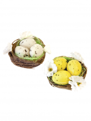 2 Décorations nids de Pâques