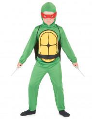 Déguisement tortue combattante garçon