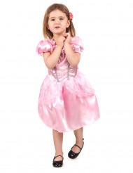 Déguisement princesse rose fille