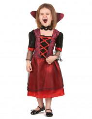 Déguisement vampire rouge fille