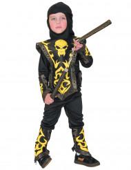 Déguisement ninja jaune garçon