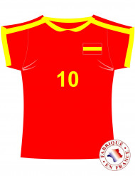 Cut out maillot Espagne