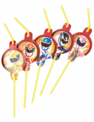 8 Pailles Power Rangers™