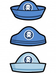 6 Carte d'invitation chapeau Octonauts™