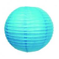Lanterne japonaise turquoise 35 cm