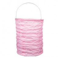Lampion rose pastel 13 cm