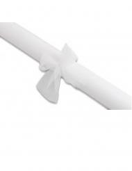 Rouleau de tulle blanche 7 m x 48 cm