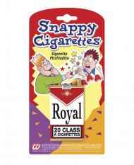 Paquet cigarettes tape-doigt
