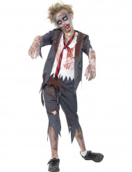 Déguisement zombie écolier garçon Halloween