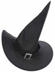 Chapeau sorcière avec boucle adulte Halloween