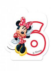 Bougie d'anniversaire 6 ans Minnie café™