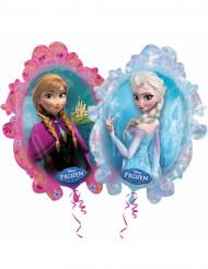 Ballon aluminium 63 x 72 cm Reine des neiges™