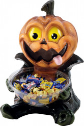 Pot à bonbons citrouille 47 cm