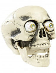 Crâne yeux globuleux Halloween