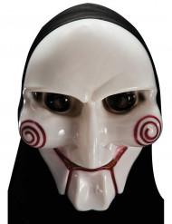 Masque tueur psychopathe avec capuche adulte