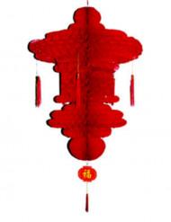 Décoration à suspendre chinoise rouge