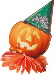 Centre de table citrouille Halloween