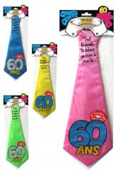 Cravate humoristique 60 ans