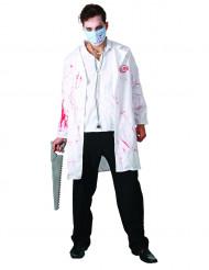 Déguisement chirurgien ensanglanté adulte Halloween