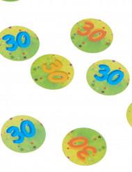 150 confettis de table 30 ans