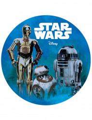 Disque azyme 20 cm BB-8 C-3PO R2-D2 Star Wars™